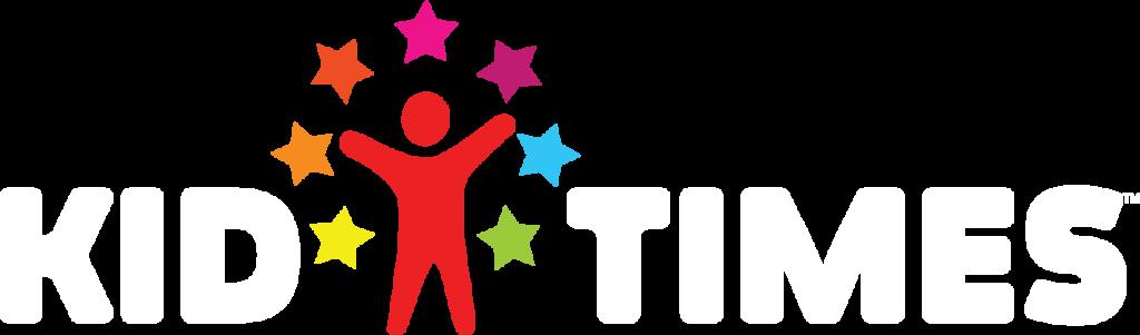 KidTimes Logo on WHITE