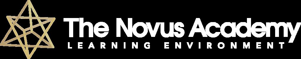 Logo-TheNovusAcademy RGB WhtText